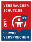 Schlüsseldienst Düsseldorf - Empfehlungszeichen von Verbraucherschutz.de.